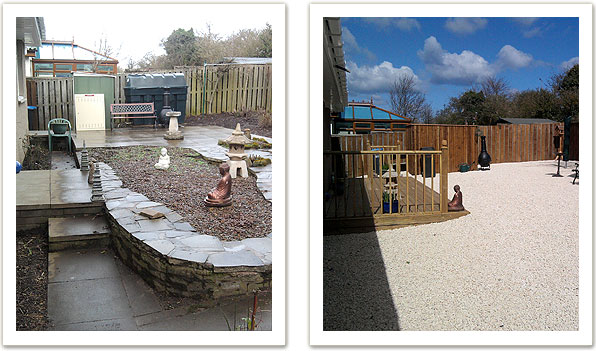 Decking, fencing and hard landscaping